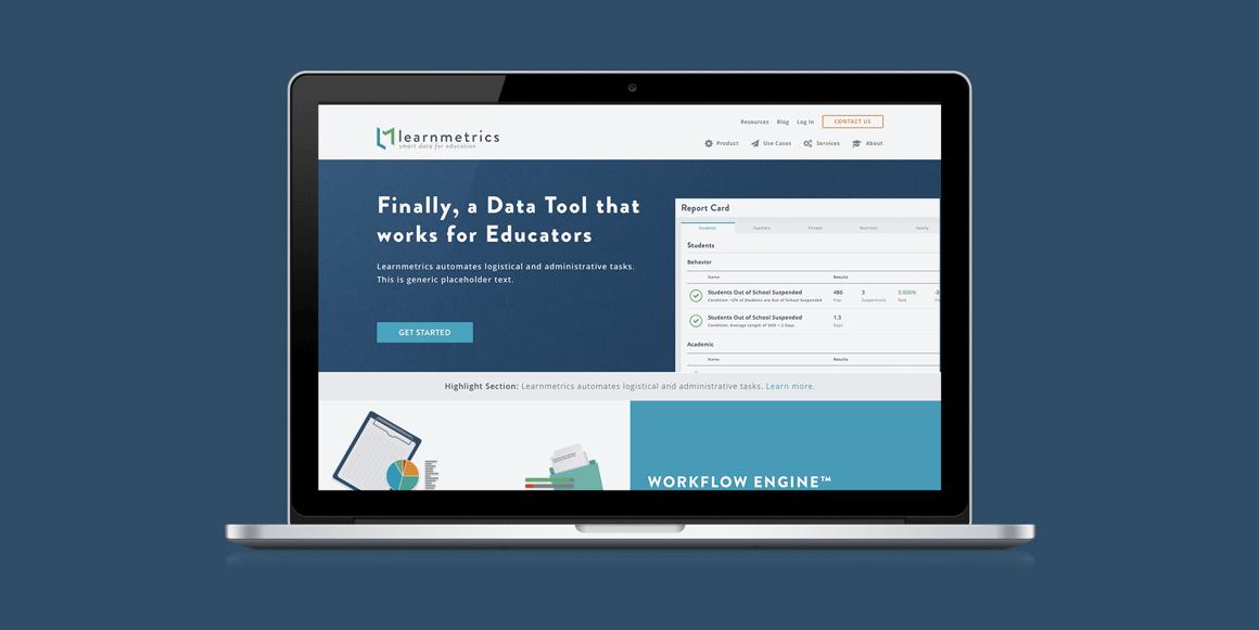 Learnmetrics-Website
