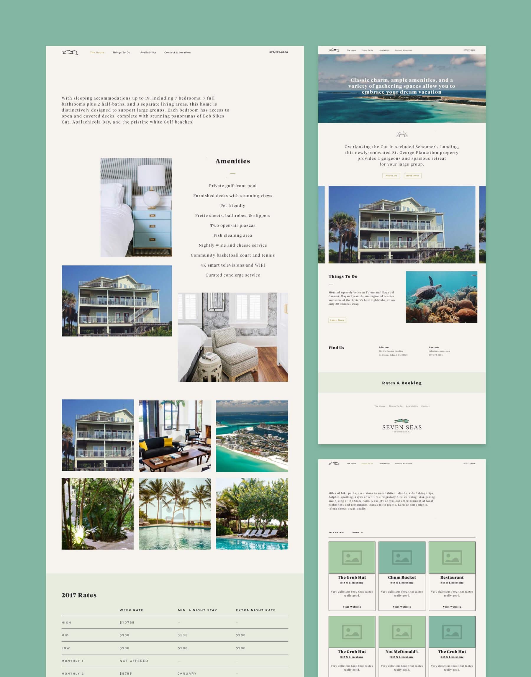 sevenseas-website